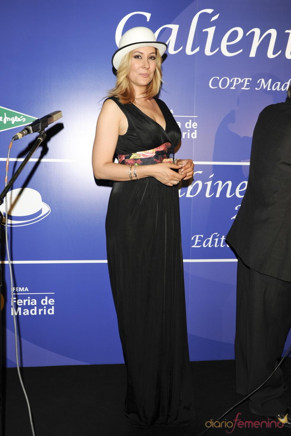 Chayo Mohedano en los Premios Bombines de Oro 2011