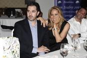 Chayo Mohedano y su marido Andrés en los Premios Bombines de Oro 2011