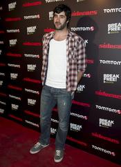 David Amor en el concierto de Sidecars en Madrid