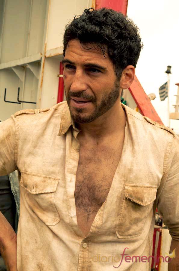 Miguel Ángel Silvestre es el capitán del 'Alakrana'