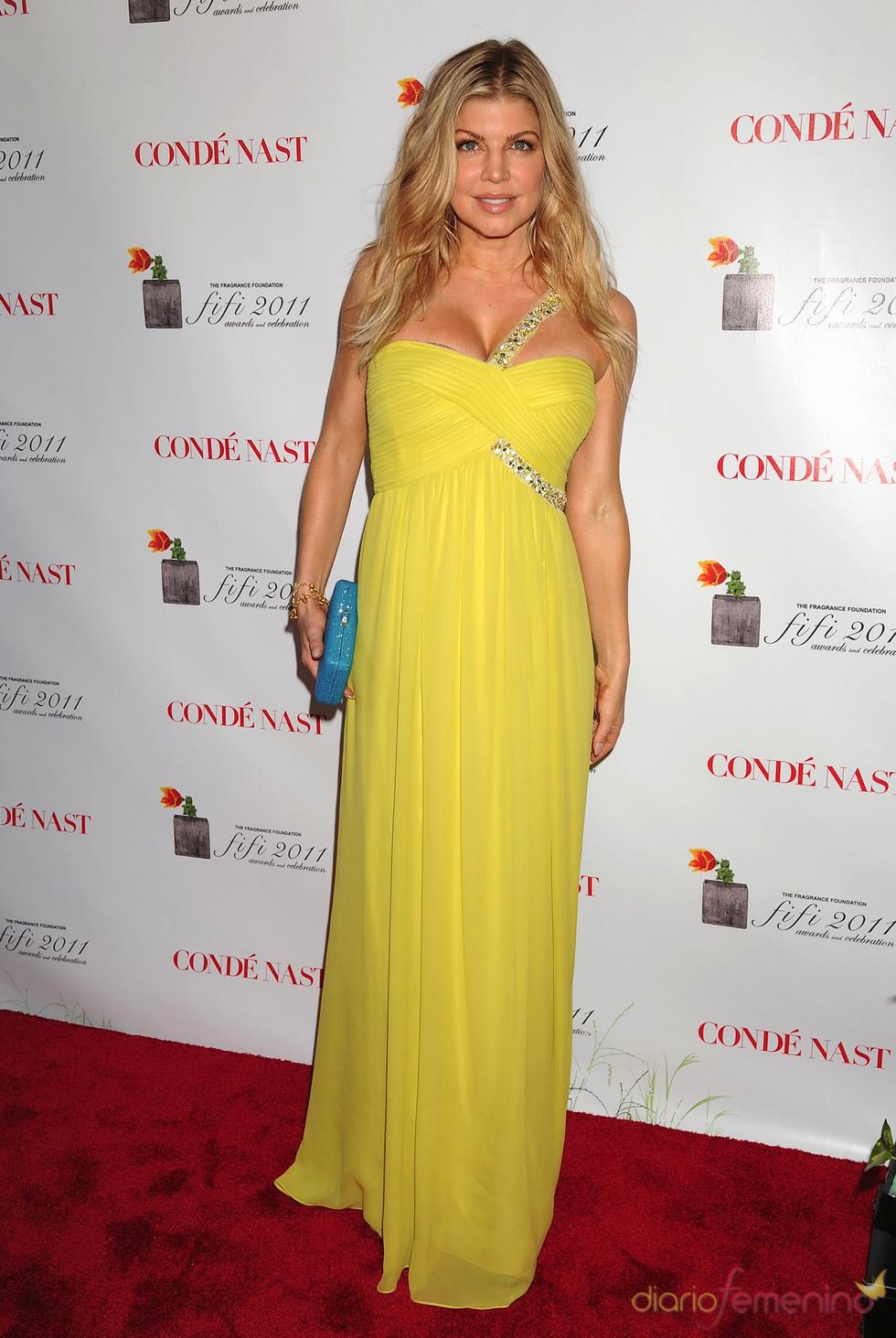 Fergie en los Premios Fifi 2011