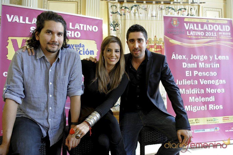 Jorge Villamizar, Lena Burke y Álex Ubago presentan un disco conjunto