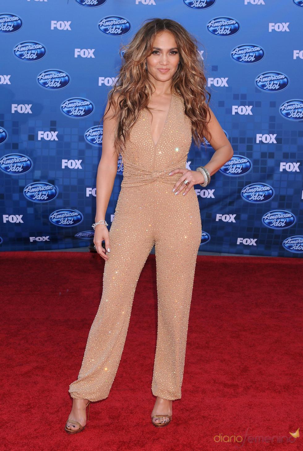 Jennifer López en la gala final de 'American Idol'