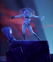 Lady Gaga en la gala final de 'American Idol'