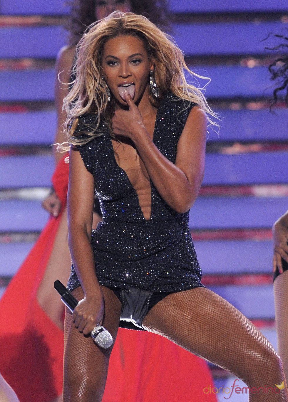 Beyoncé en la gala final de 'American Idol'