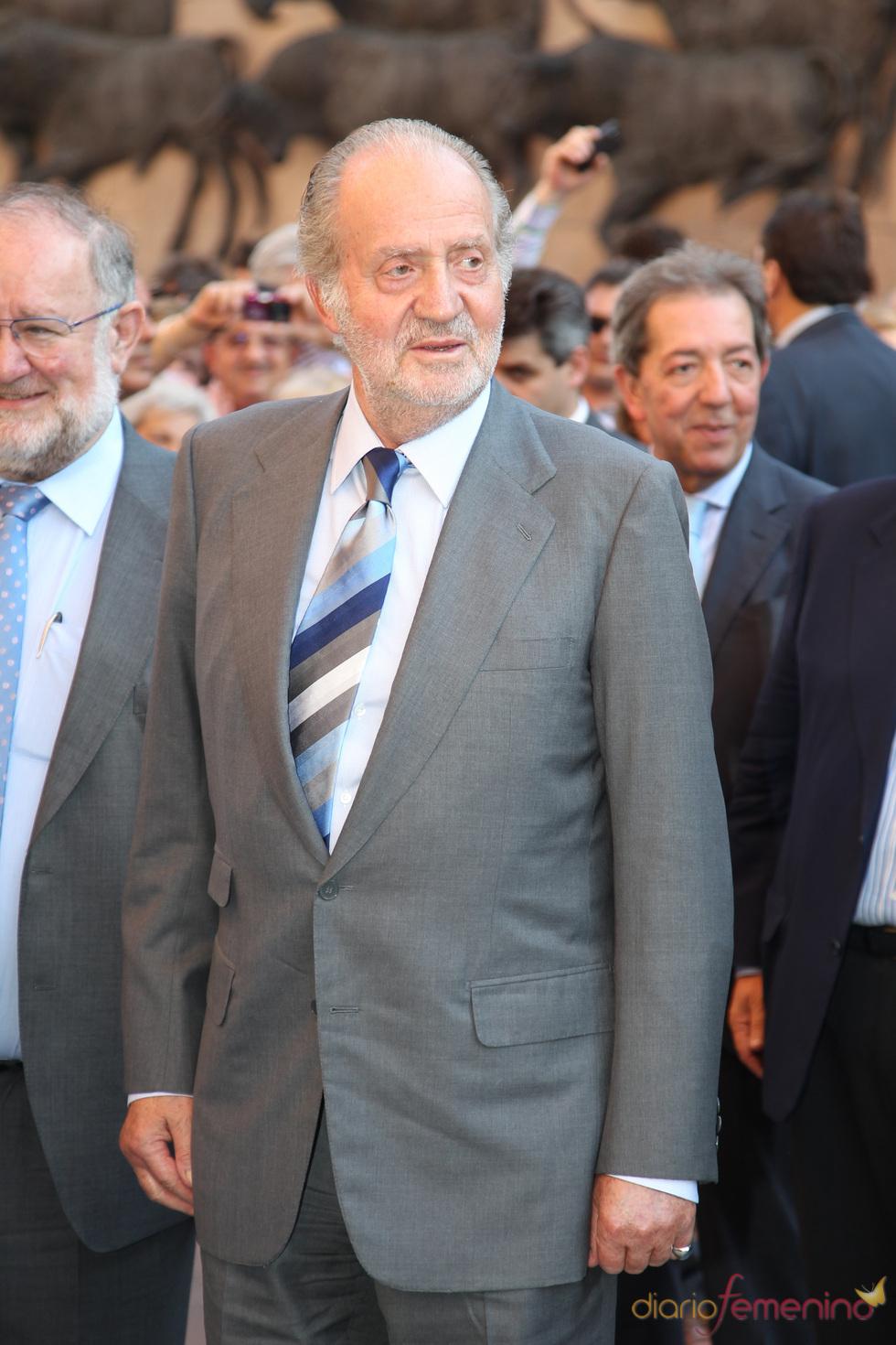 El Rey Juan Carlos preside la Corrida de la Prensa en Las Ventas