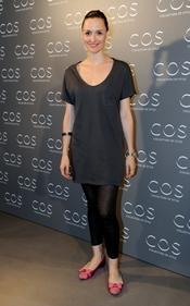 Laura Pamplona en la presentación de la tienda COS en Madrid