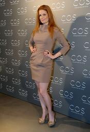 Olivia de Borbón en la presentación de la tienda COS en Madrid