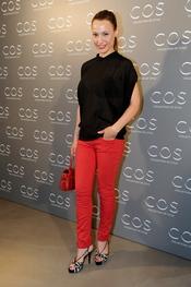 Natalia Verbeke en la presentación de la tienda COS en Madrid