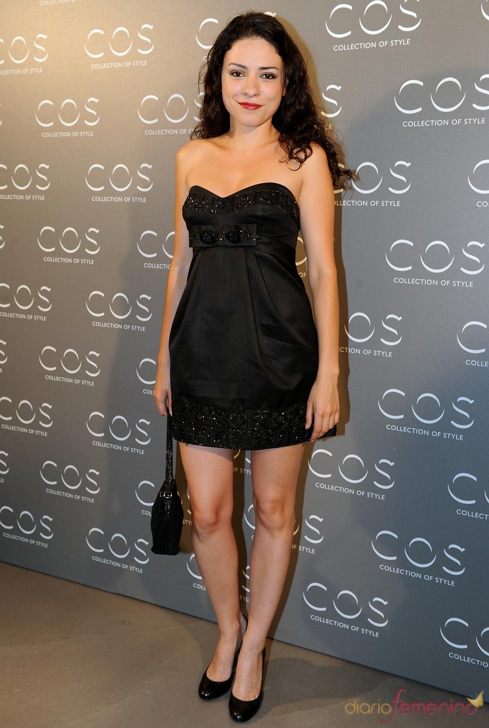 Ana Arias en la presentación de la tienda COS en Madrid