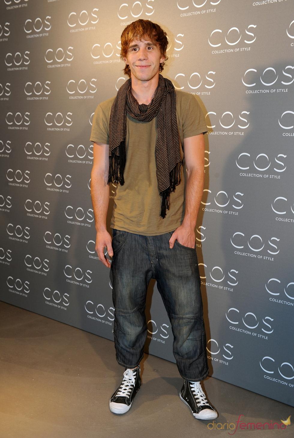 Bernabé Fernández en la presentación de la tienda COS en Madrid
