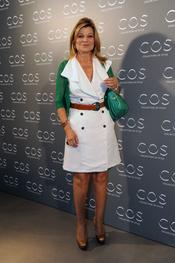 Cari Lapique en la presentación de la tienda COS en Madrid