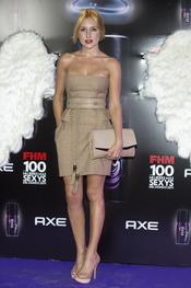 Berta Collado durante los Premios FHM 'Las 100 mujeres más sexys 2011'