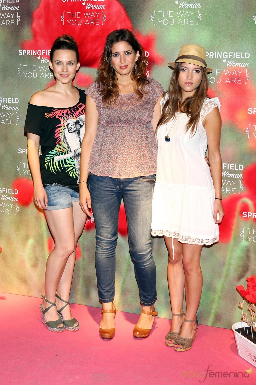 Ana Fernández, Aura Garrido y Lucia Jiménez dan lecciones de moda