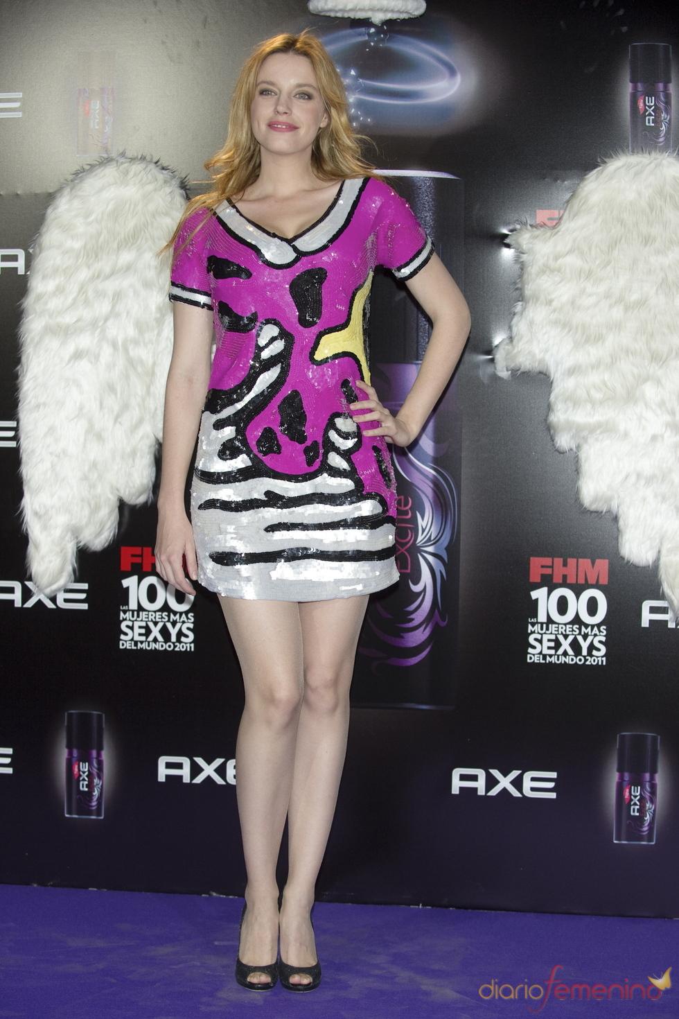 Carolina Bang durante los Premios FHM 'Las 100 mujeres más sexys 2011'