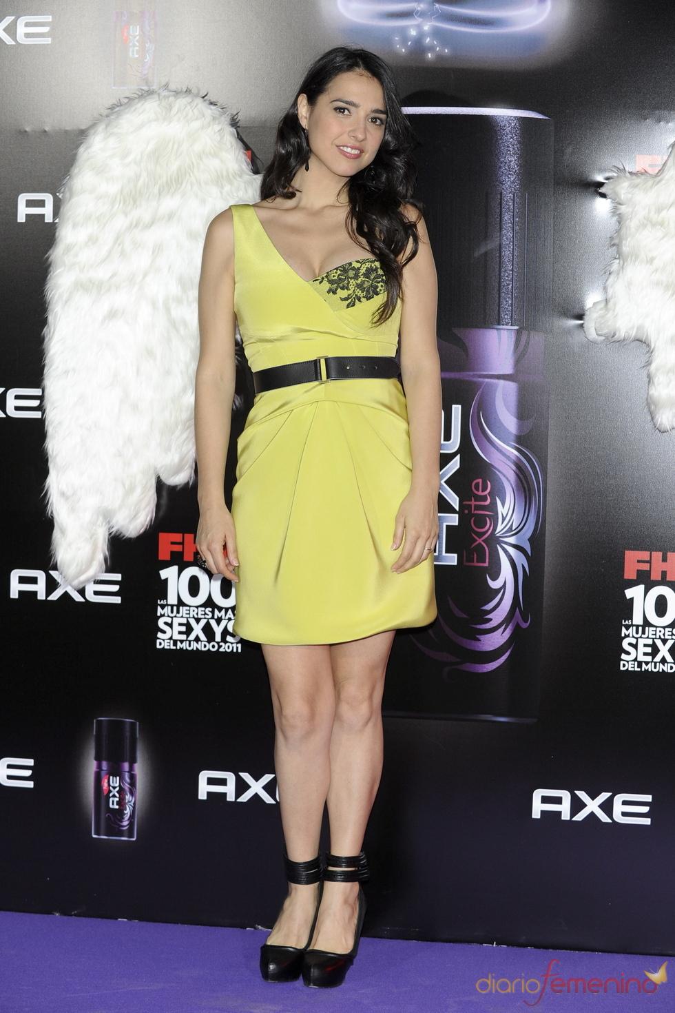 Cristina Brondo durante los Premios FHM 'Las 100 mujeres más sexys 2011'