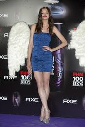 Dafne Fernández durante los Premios FHM 'Las 100 mujeres más sexys 2011'