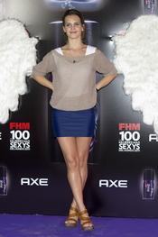 Sabrina Garciarena durante los Premios FHM 'Las 100 mujeres más sexys 2011'