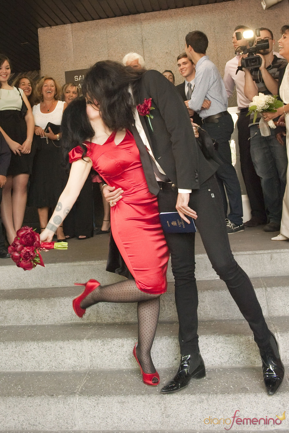 Alaska y Mario Vaquerizo ya son oficialmente marido y mujer