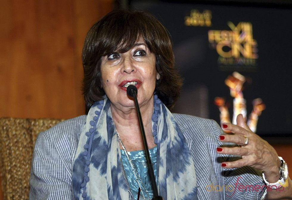 Concha Velasco en el Festival de Cine de Alicante 2011
