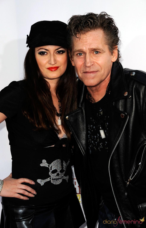 Jeff Conaway y su novia Vikki Lizzi en una imagen de septiembre de 2008