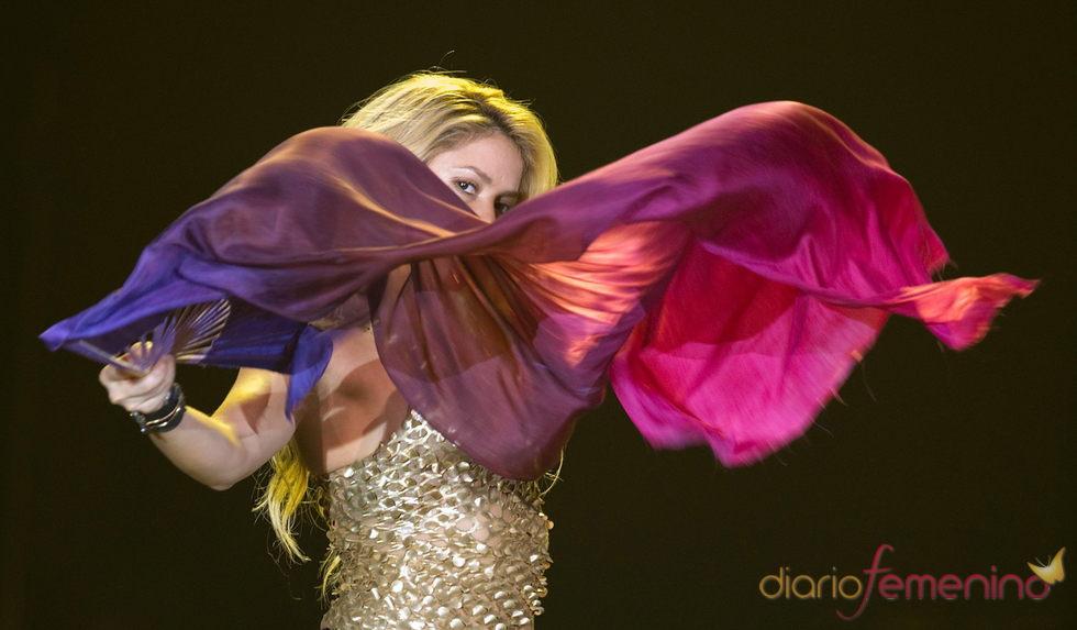 Shakira, de concierto en Beirut durante su girsa 'Sale el sol'