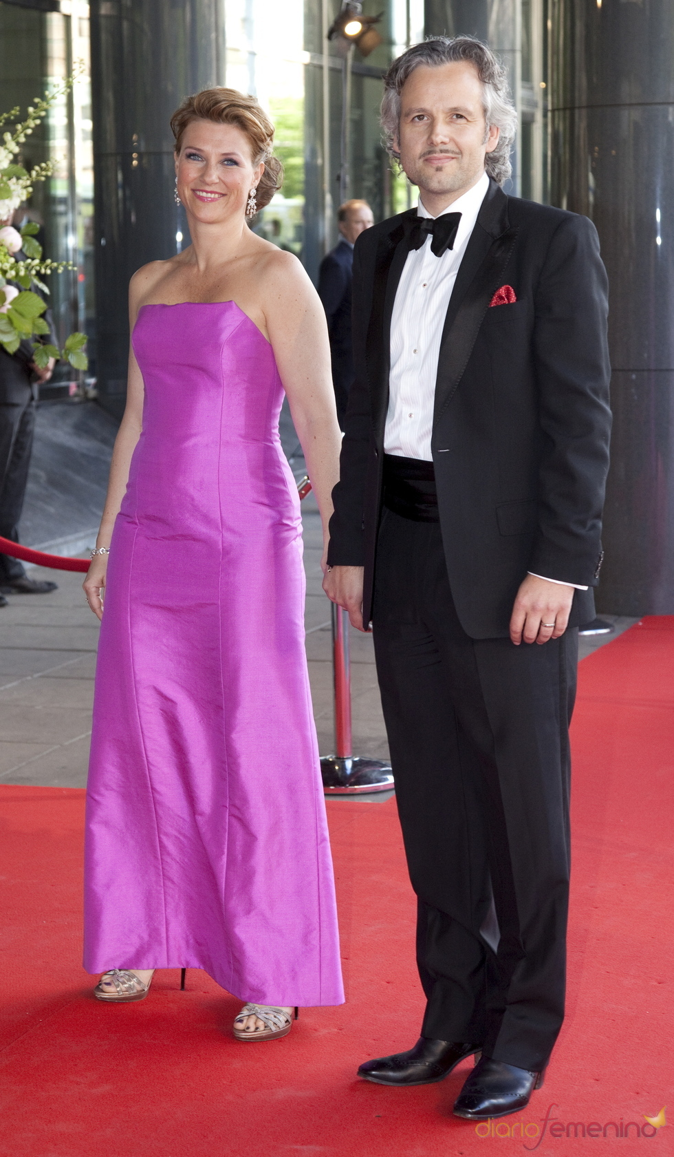 La princesa Martha Louise de Noruega y Ari Behn en el cumpleaños de Máxima de Holanda