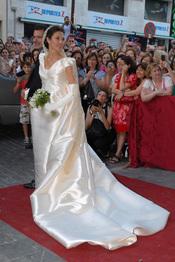 El vestido de novia de Carmen Solís Tello