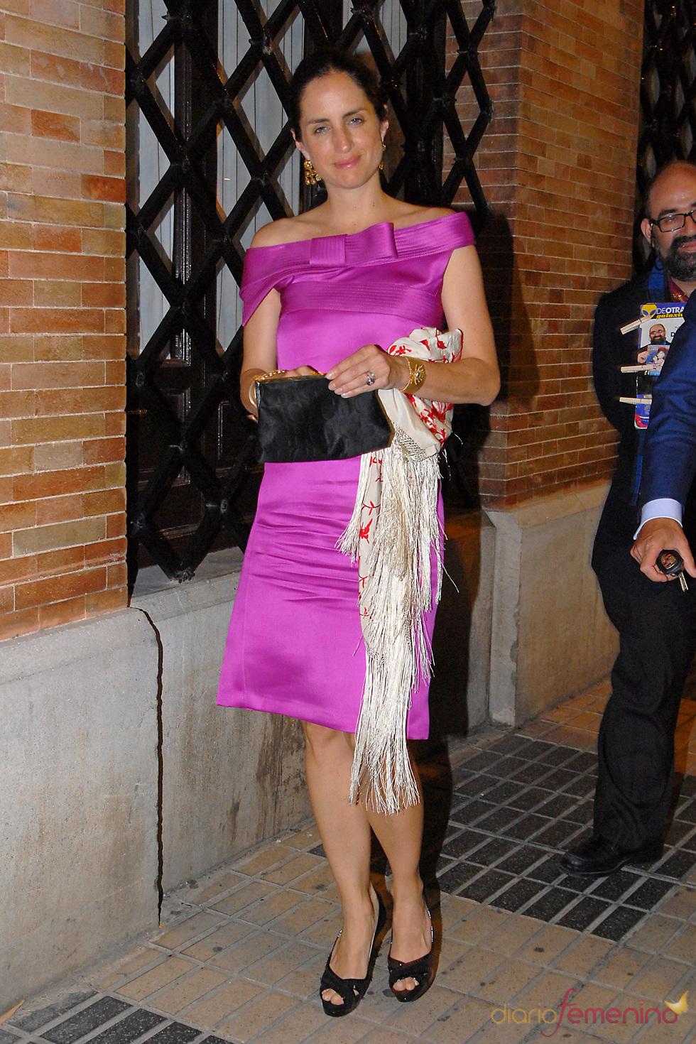 Adriana Carolina Herrera en la boda de Carmen Solís Tello