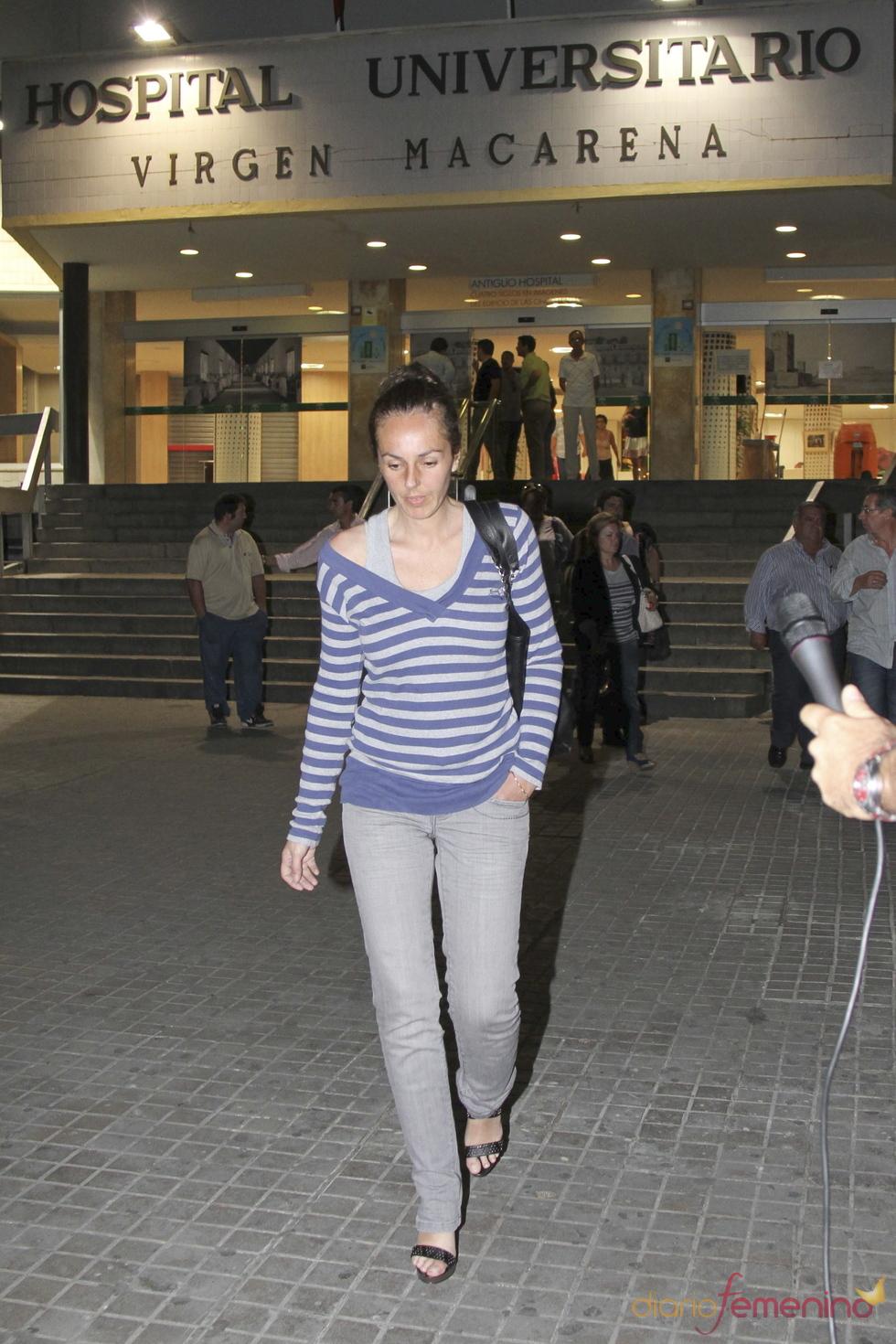 Rocío Carrasco visita a José Ortega Cano en el hospital