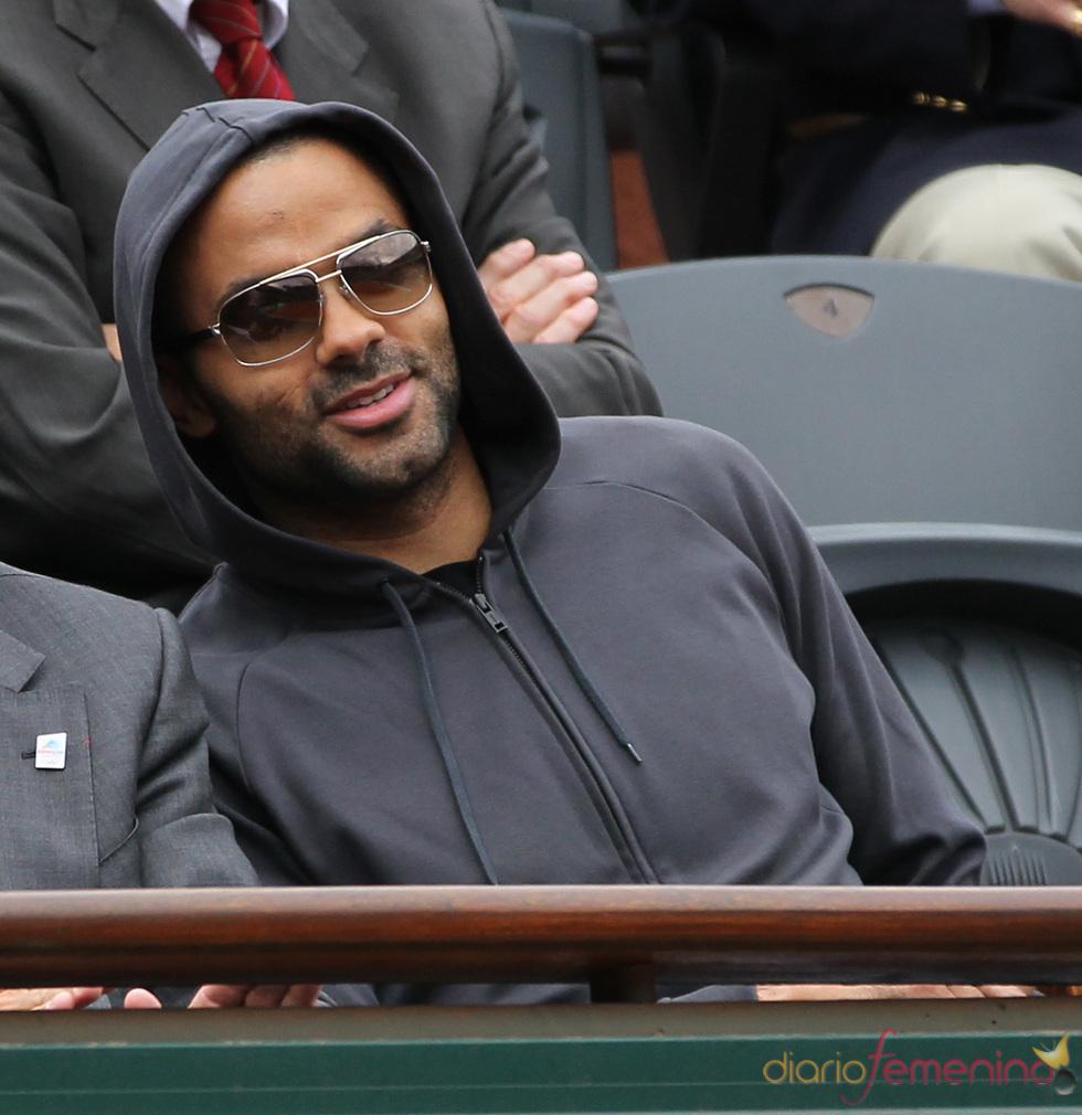 Tony Parker en el torneo Ronald Garros