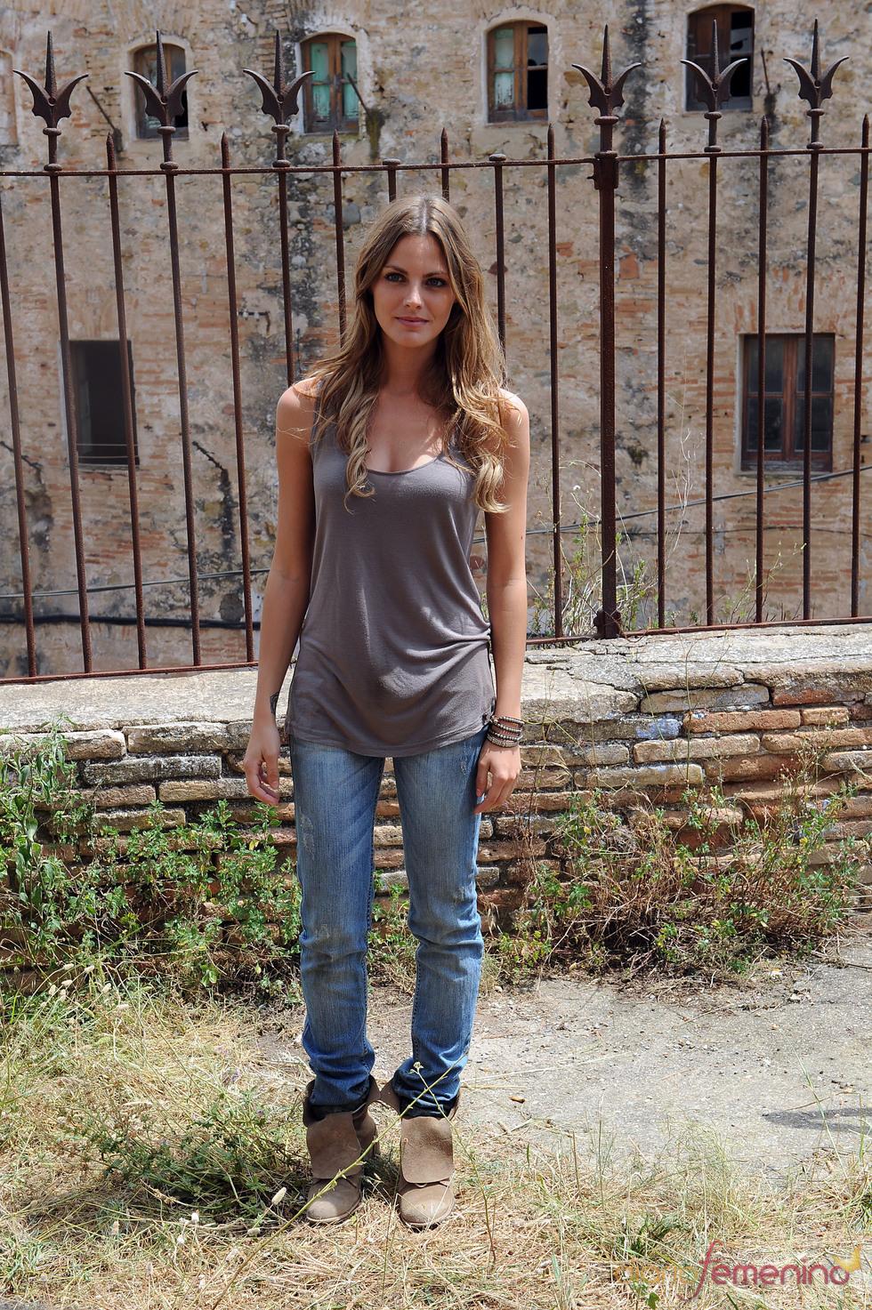 Amaia Salamanca en el rodaje de 'X3PD'