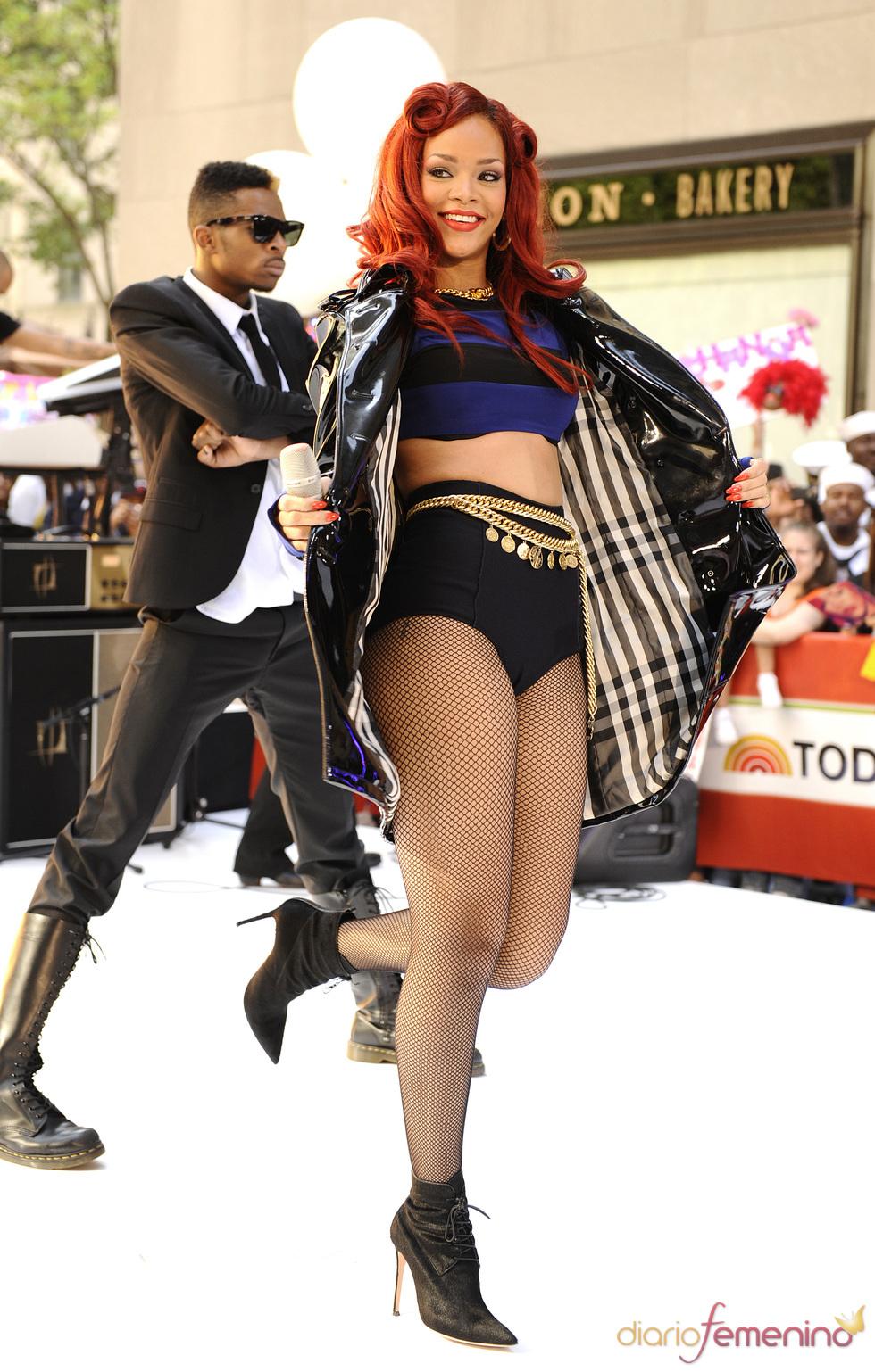 Rihanna, atacada por un fan en un espectáculo en Nueva York