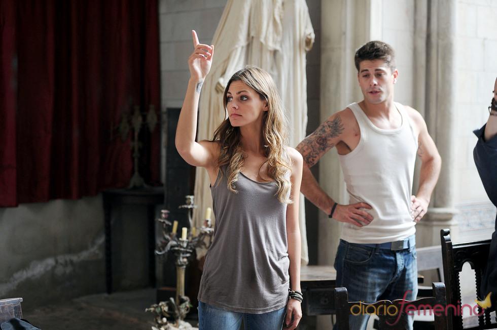 Amaia Salamanca y Luis Fernández ruedan 'X3PD'