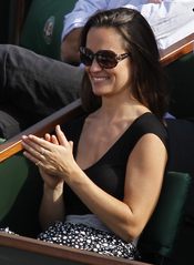 Pippa Middleton disfruta del Roland Garros