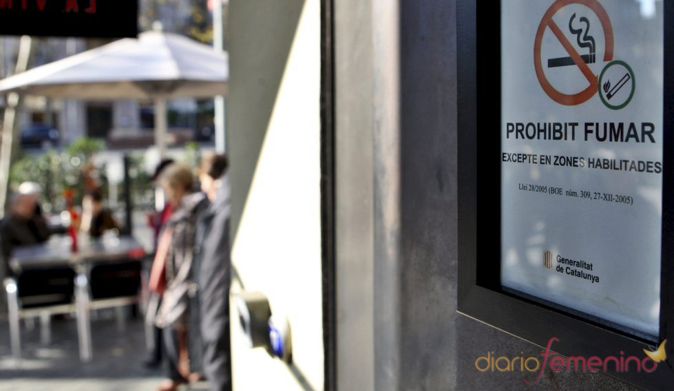 Cartel de 'Prohibido fumar' según la Ley Antitabaco