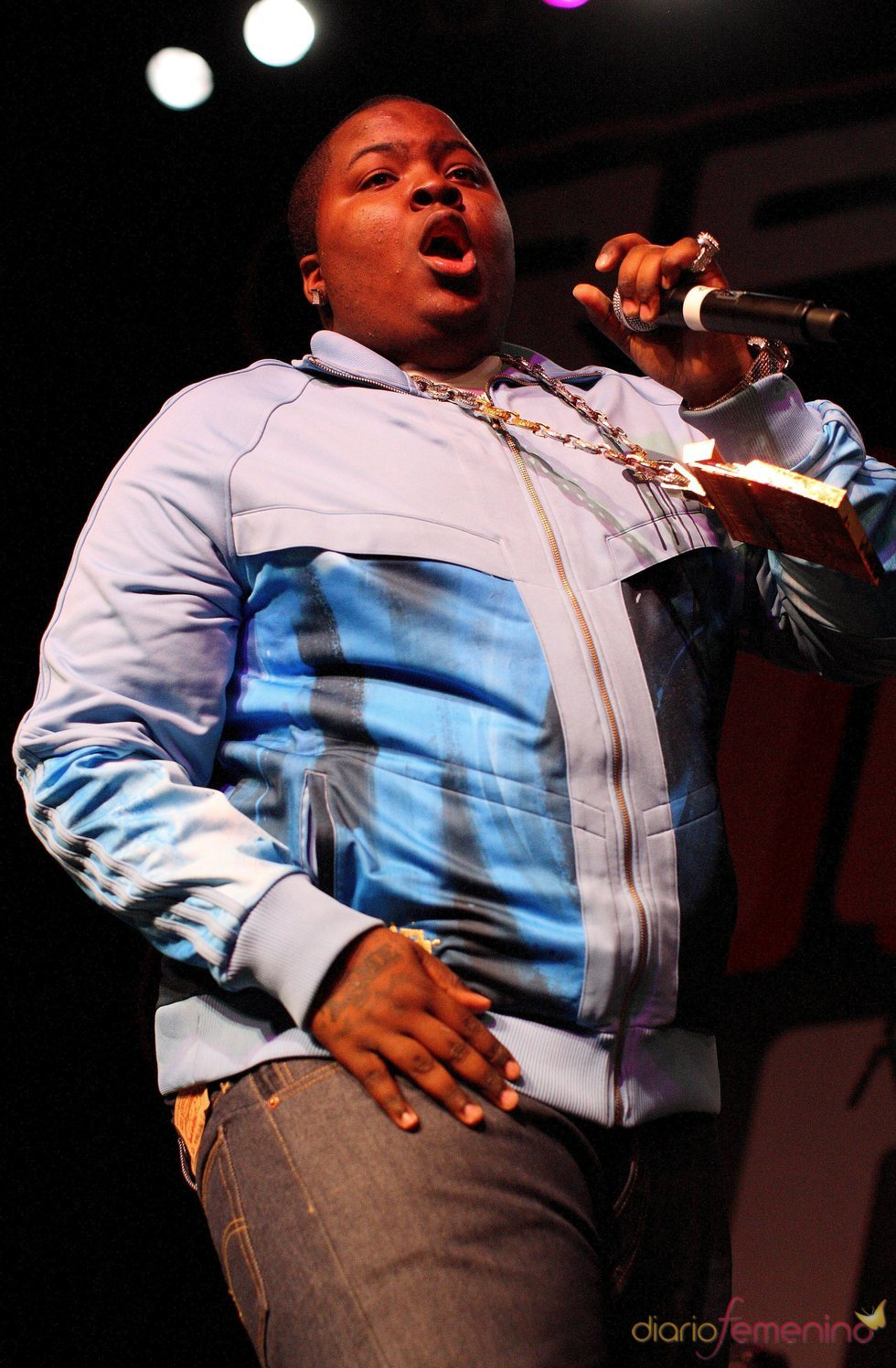 El rapero Sean Kingston, grave tras un accidente