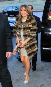 La cantante Thalía en Nueva York