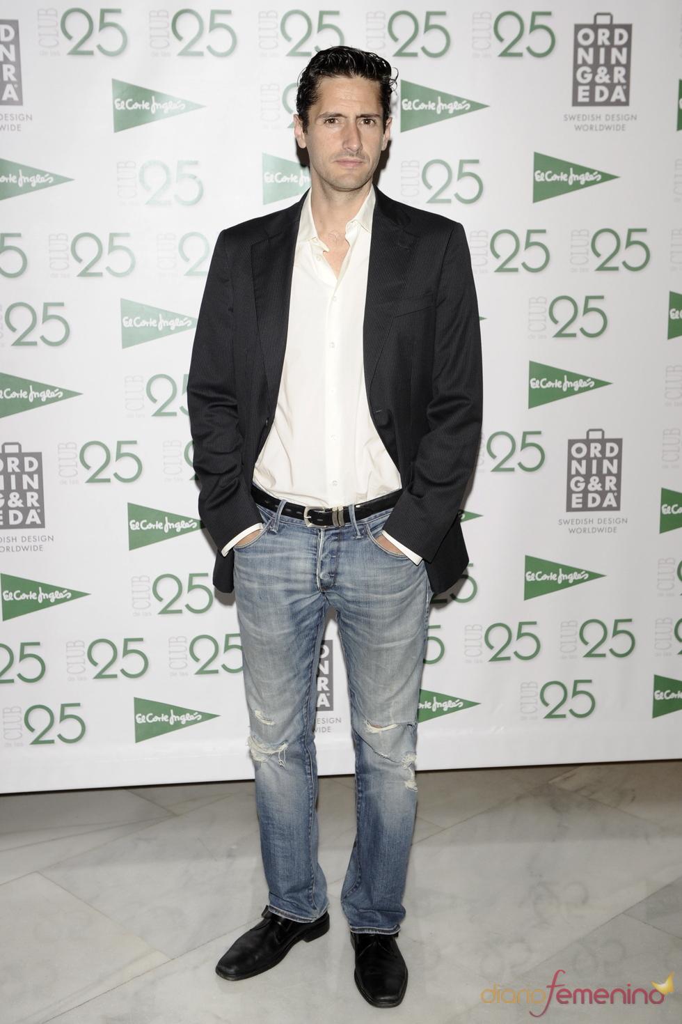 Juan Diego Botto en los Premios 'Club de las 25' 2011