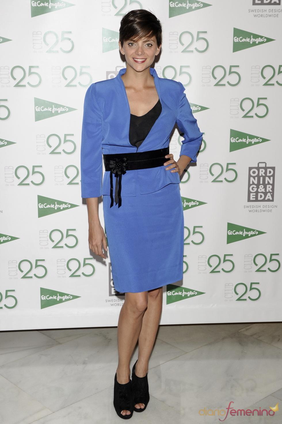 Macarena Gómez en los Premios 'Club de los 25' 2011