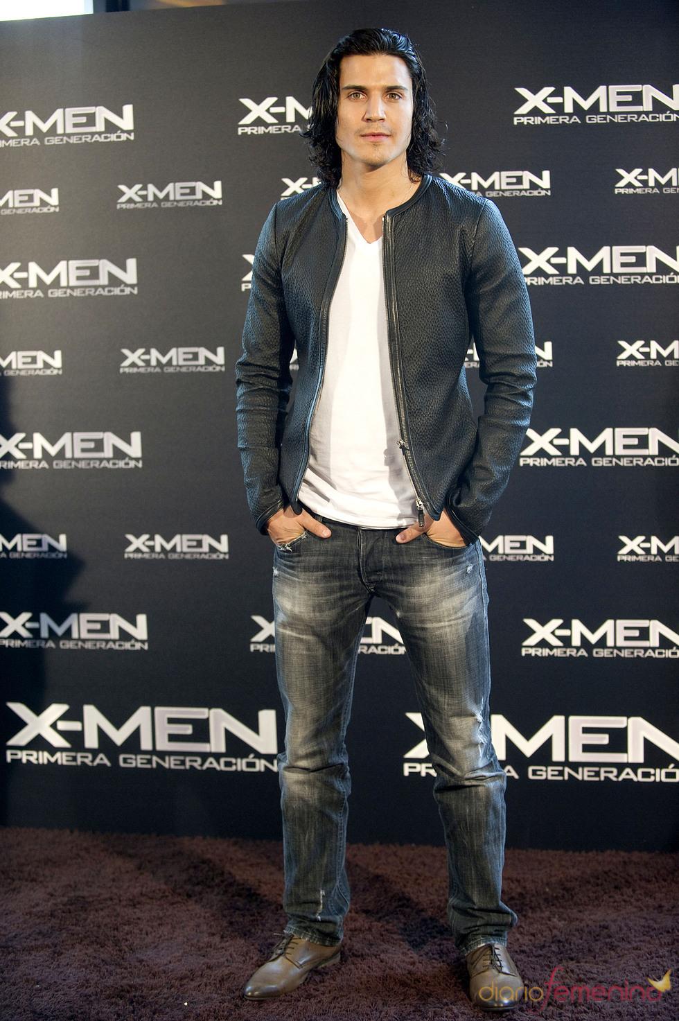 Álex González, encantado con 'X-Men', pero quiere volver a España