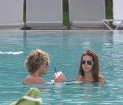 Diego Forlán y Zaira Nara disfrutan de su amor en Miami