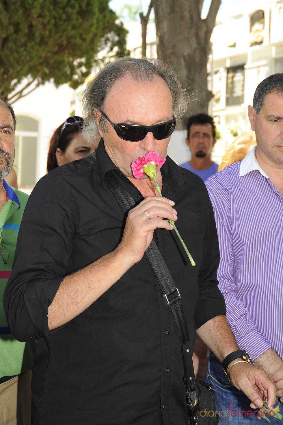 Amador Mohedano en el quinto aniversario de la muerte de Rocío Jurado