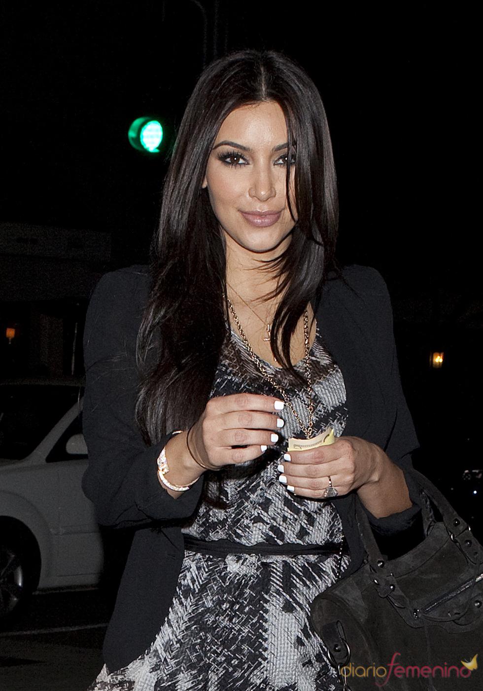 Kim Kardashian anillo de bodas