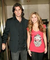 Shakira y Antonio de la Rúa cuando todavía eran pareja