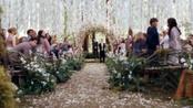 Imagen de la boda de Kristen Stewart y Robert Pattinson en 'Amanecer'
