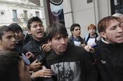 Leo Messi niega haber sido agredido en Rosario