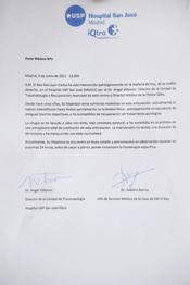 Parte médico del Rey Juan Carlos tras su operación de rodilla derecha