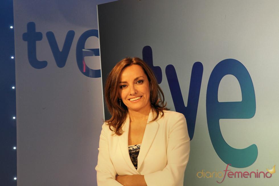 Pepa Bueno, presentadora de los telediarios de TVE