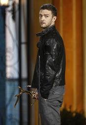 Justin Timberlake en la gala de los 'Spike TV's Guys Choice Awards'